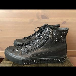 John Varvatos Men's Studded Sneaker